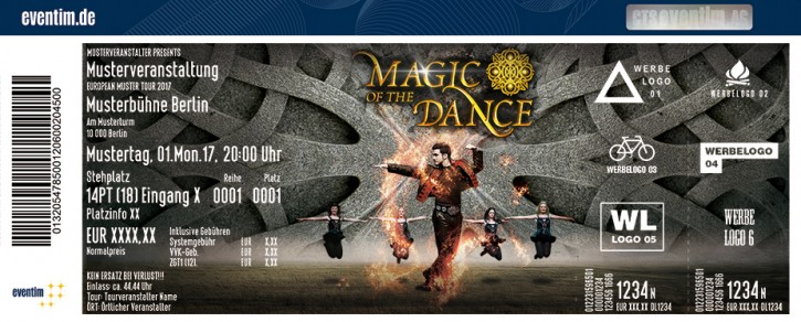 Magic of the Dance - Tournee 2018