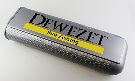 DEWEZET Zeitungsbox links