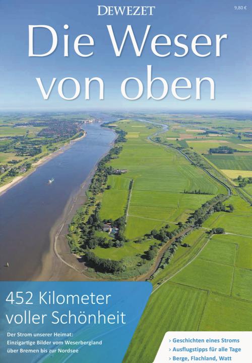 Die Weser von oben