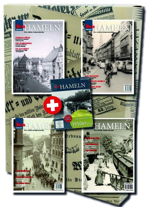 Mein Hameln 1 - 4 inkl. CD im Geschenkkarton