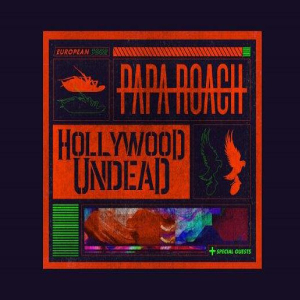 Papa Roach x Hollywood Undead