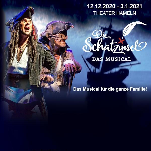 Die Schatzinsel - Das Musical