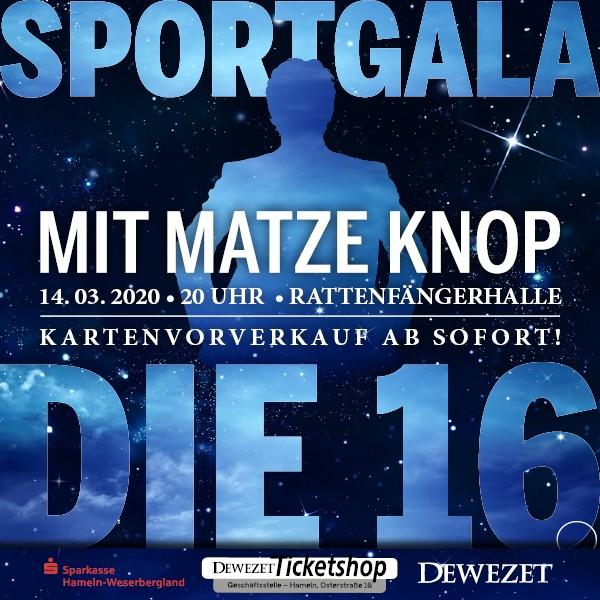 16. Sportgala mit Matze Knop