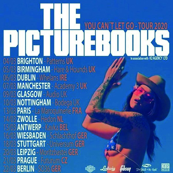 The Picturebooks - You can't let go – Tour 2020