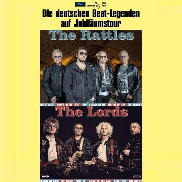 The Rattles + The Lords - Die deutschen Beat Legenden - Jubiläumstour 2020
